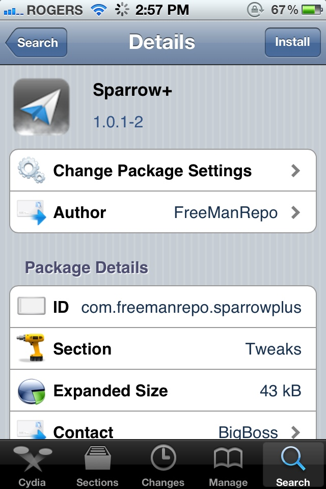 Sparrow+